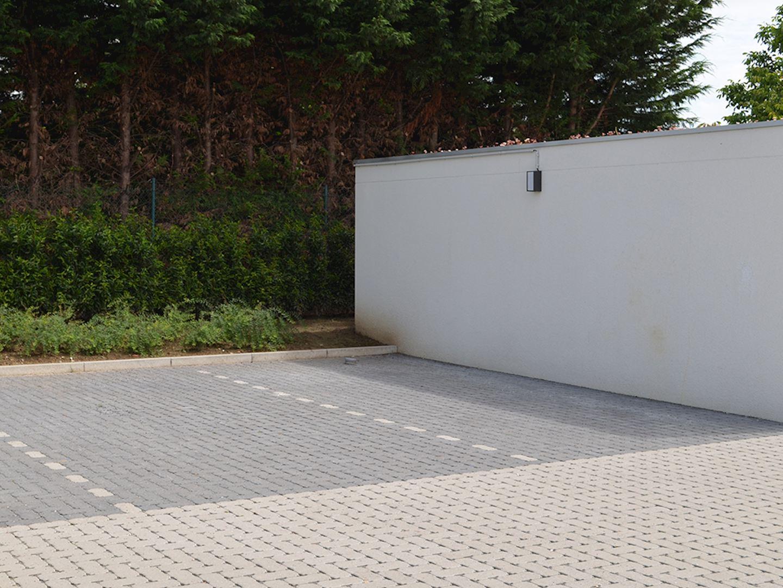 Dalle Beton Parking Herbe pavage perméable à l'eau